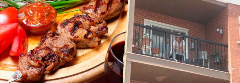 Как законно приготовить шашлык на балконе (лоджии) многоквартирного дома?